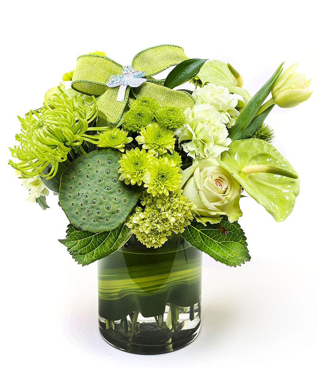 St. Patrick's Day Flower Arrangements Delivery